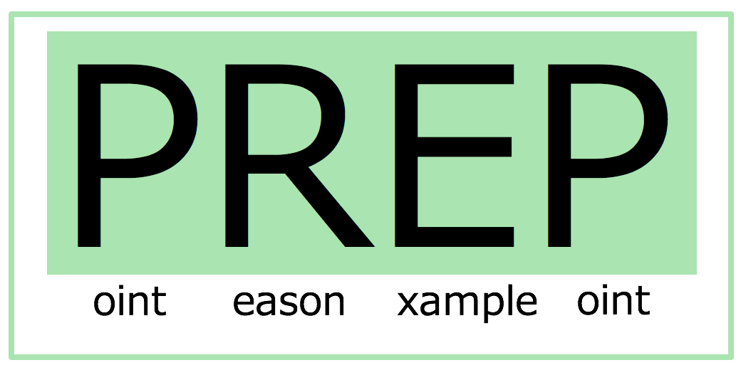 PREP法による「展開」術